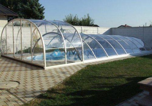 Inteligentny Zadaszenie basenu ogrodowego | producent VIVAPOOL BS76