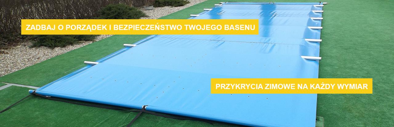 Zadbaj o porządek i bezpieczeństwo twojego basenu. Przykrycia zimowe na każdy wymiar
