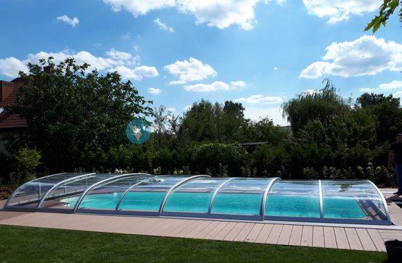 zadaszenie basenu vivapool niskie radomsko