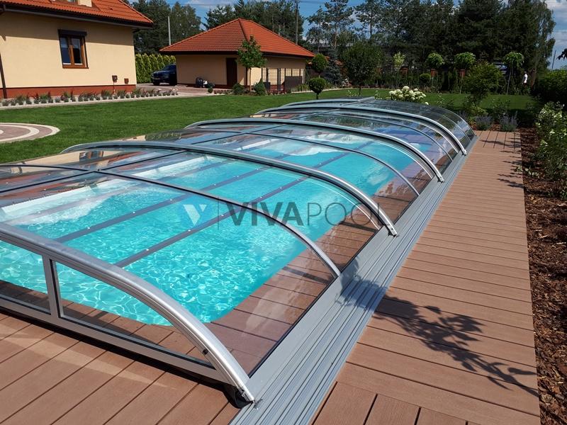 basen z zadaszeniem vivapool montaż budowa