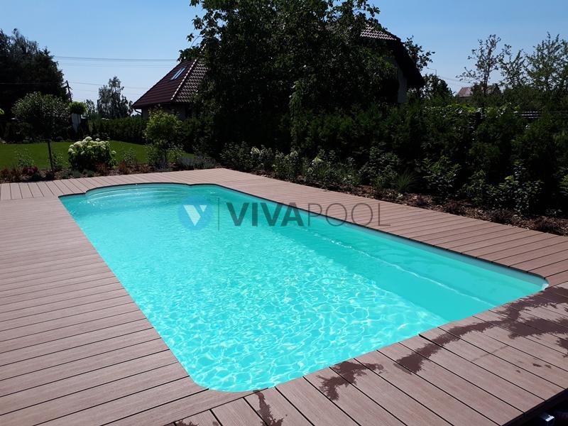 baseny poliestrowe warszawa vivapool montaż