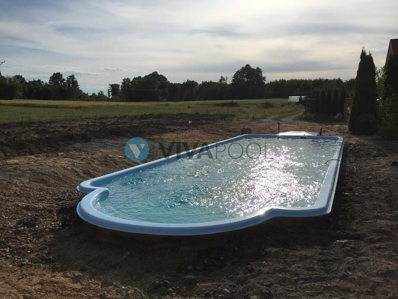 vivapool baseny bialystok ogrodowe poliestrowe budowa