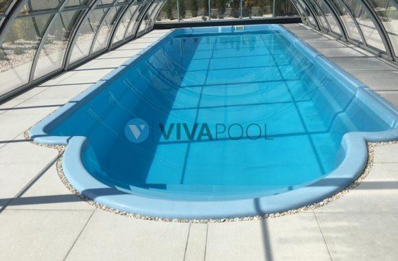 basen z rzymskimi schodkami z zadaszeniem vivapool bialystok