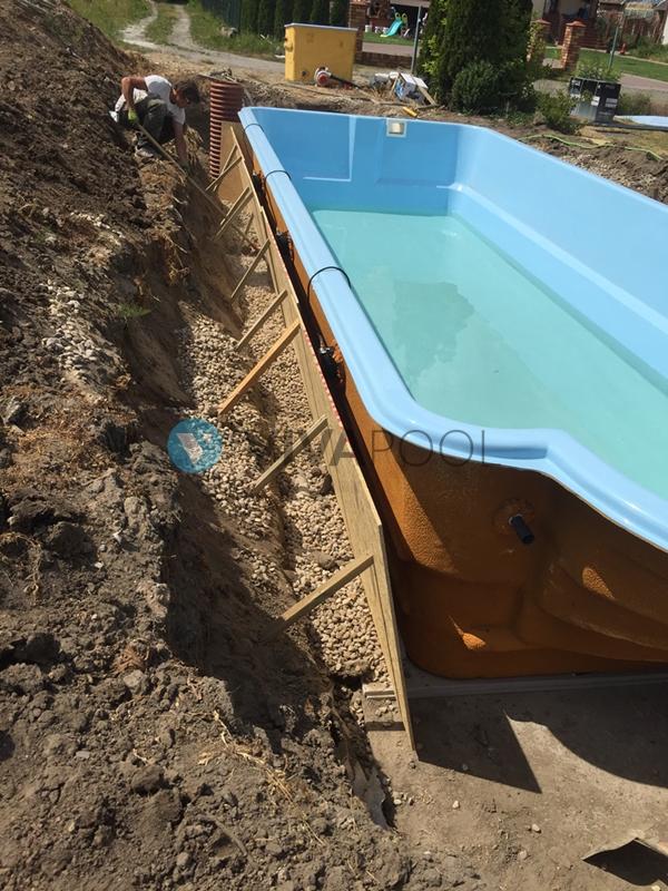 budowa basenu bialystok vivapool poliestrowe baseny wkopywne