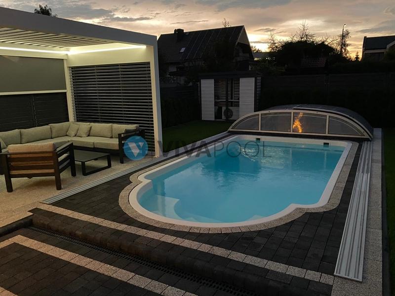 realizacja wieluniu zadaszenie basenu vivapool baseny ogrodowe
