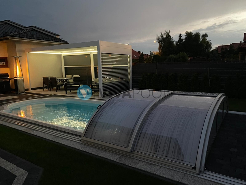basen z zadaszeniem elegant vivapool baseny zadaszenia