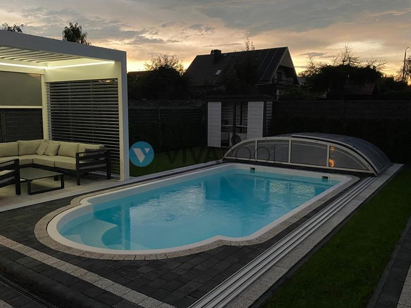 basen z zadaszeniem vivapool baseny